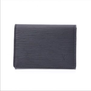Louie Vuitton Epi Leather Card Wallet